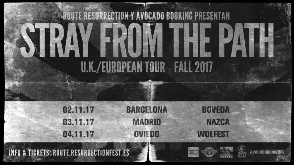 Route Resurrection Fest 2017 - Stray From The Path - Event