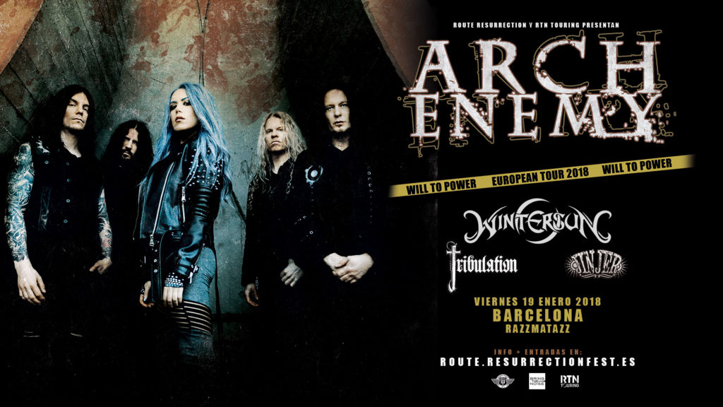 Route Resurrection Fest 2017 - Arch Enemy - Event