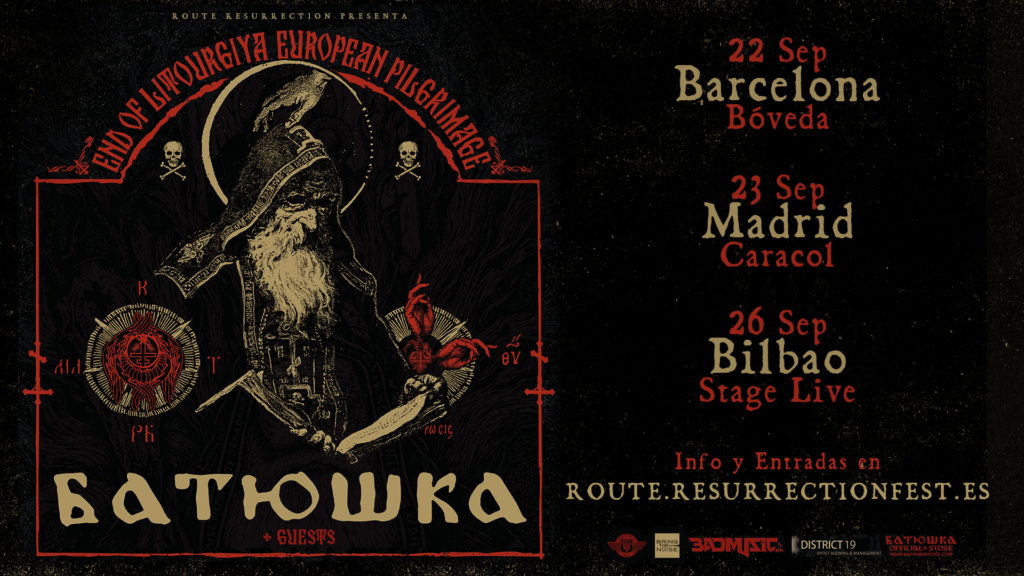 Route Resurrection Fest 2018 - Batushka - Event