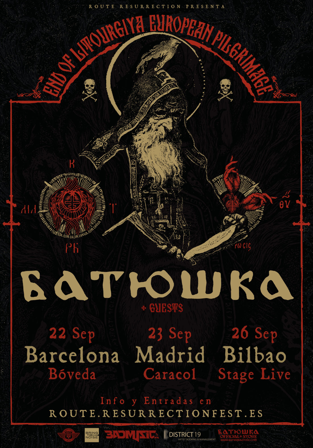 Nueva gira Route Resurrection: Batushka