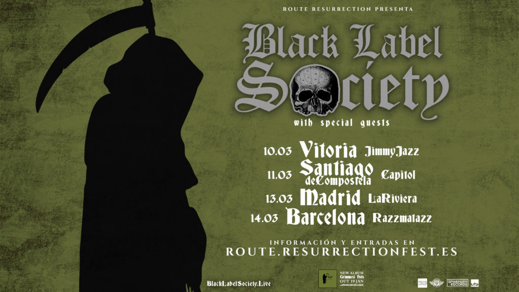 Route Resurrection Fest 2018 - Black Label Society - Event