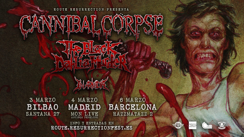 Route Resurrection Fest 2018 - Cannibal Corpse - Event