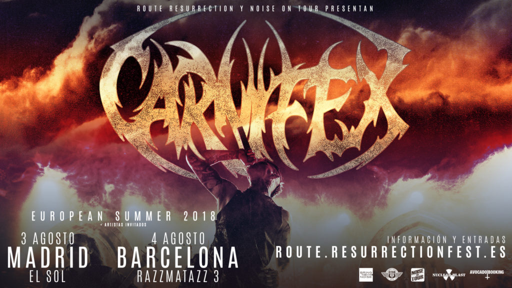 Route Resurrection Fest 2018 - Carnifex- Event