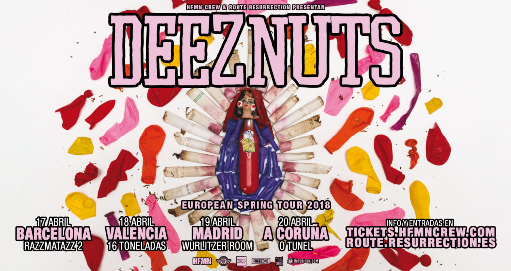 Route Resurrection Fest 2018 - Deez Nuts- Event