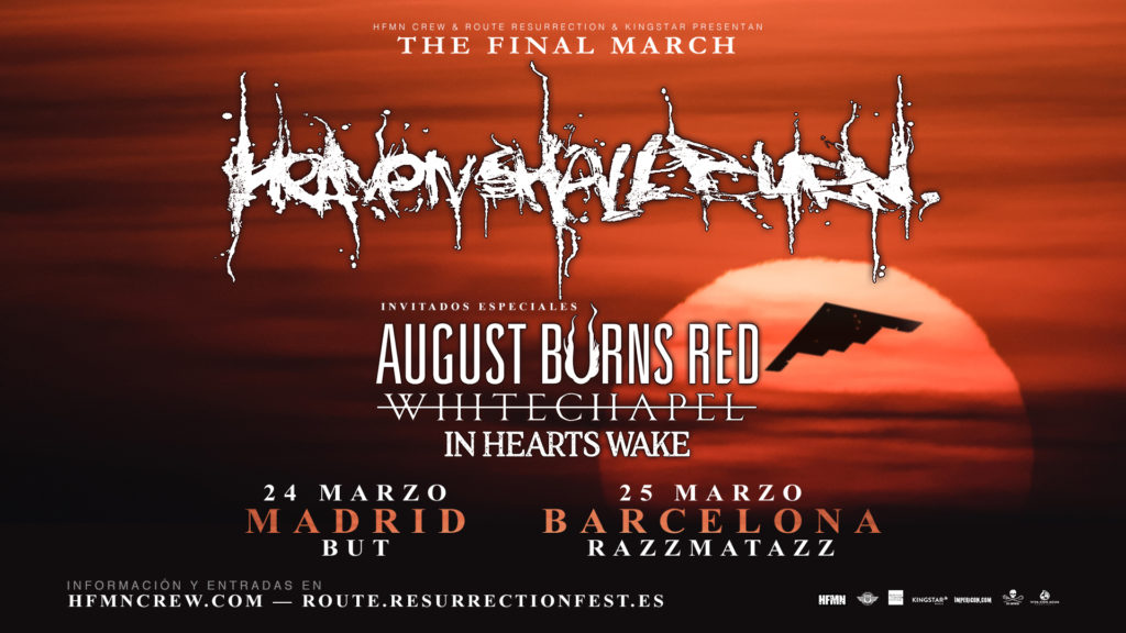 Route Resurrection Fest 2018 - HEAVEN SHALL BURN - Event