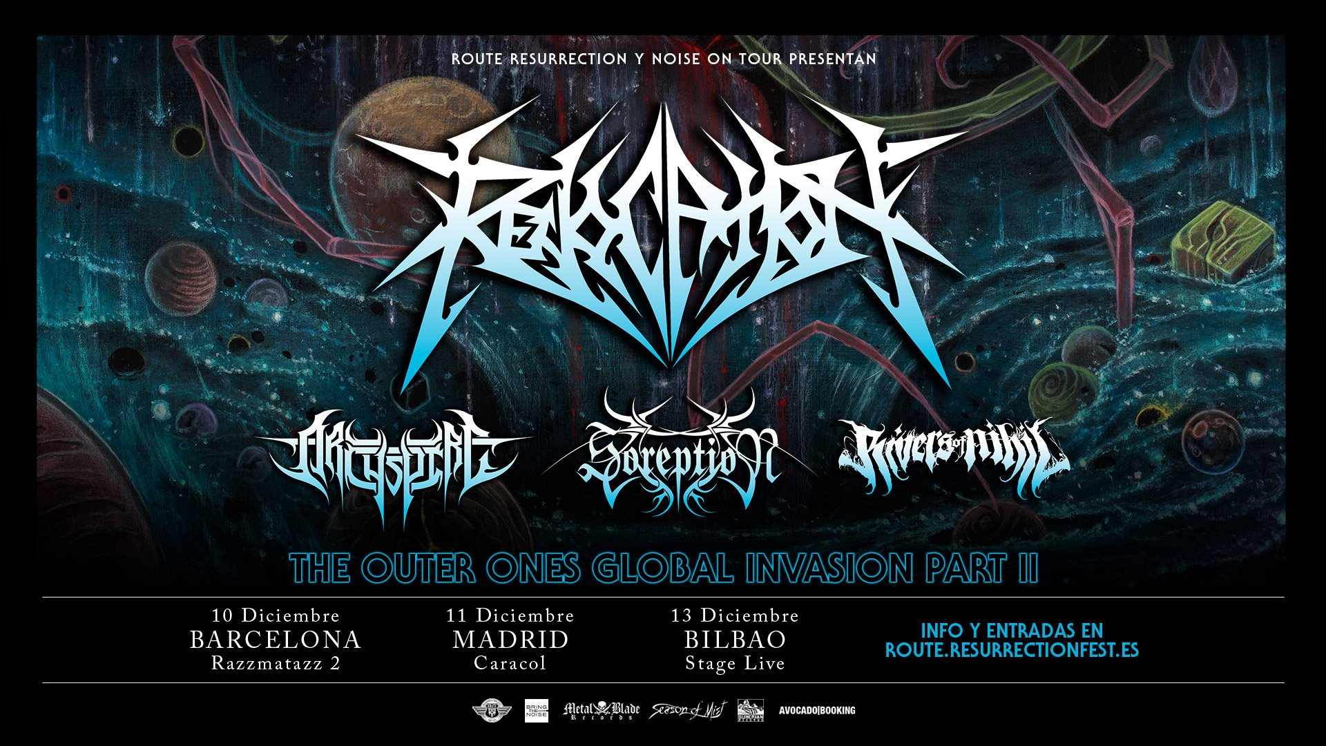 Route Resurrection Fest 2018 - Revocation - Event