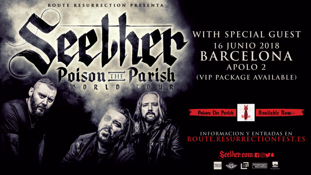 Route Resurrection Fest 2018 - Seether - Event
