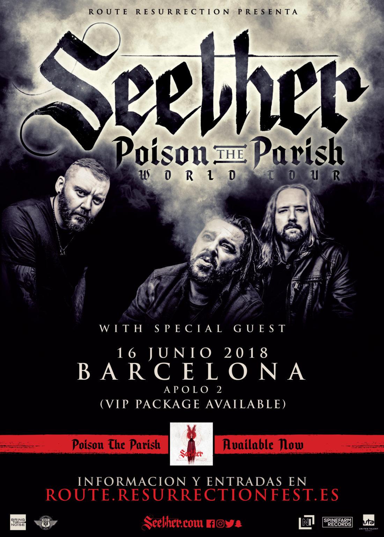 Nueva gira Route Resurrection: Seether