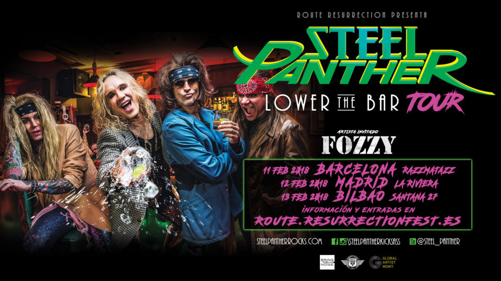 Route Resurrection Fest 2018 - STEEL PANTHER - Event