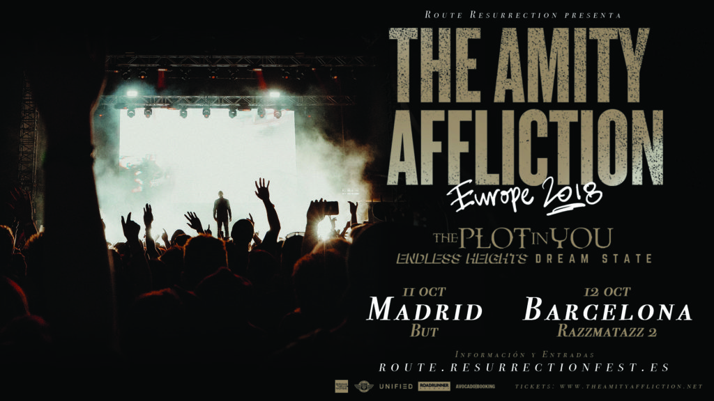 Route Resurrection Fest 2018 - THE AMITY AFFLICTION  - Event