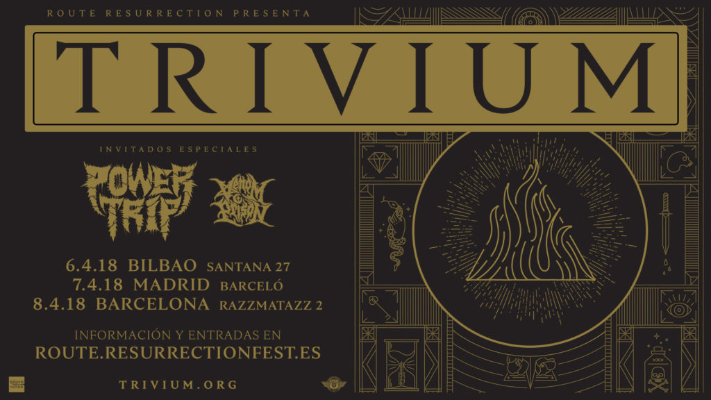 Route Resurrection Fest 2018 - TRIVIUM - Event
