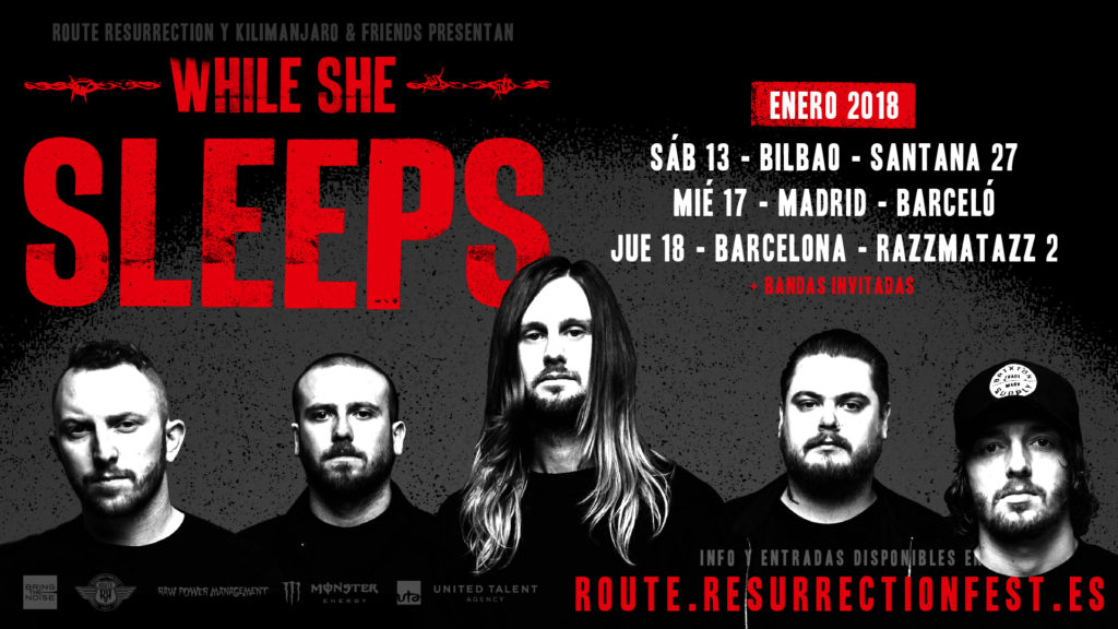 Route Resurrection Fest 2018 - While She Sleeps - Event