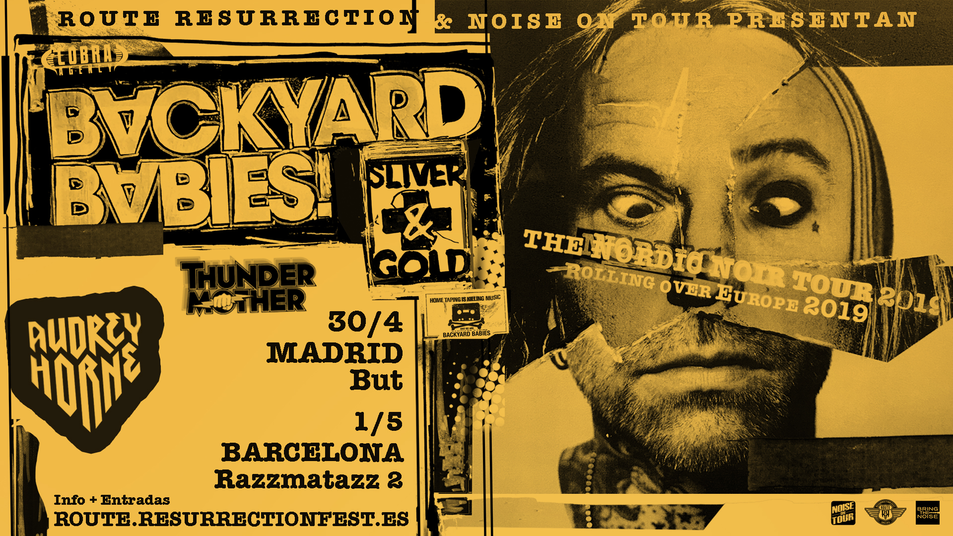 Route Resurrection Fest 2019 - Backyard Babies - Event