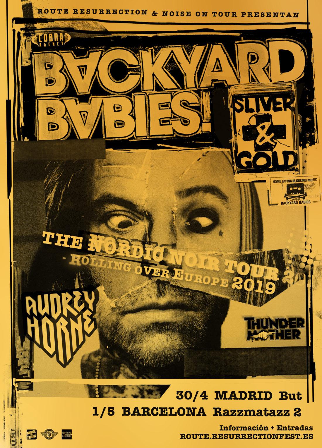 Nueva gira Route Resurrection: Backyard Babies