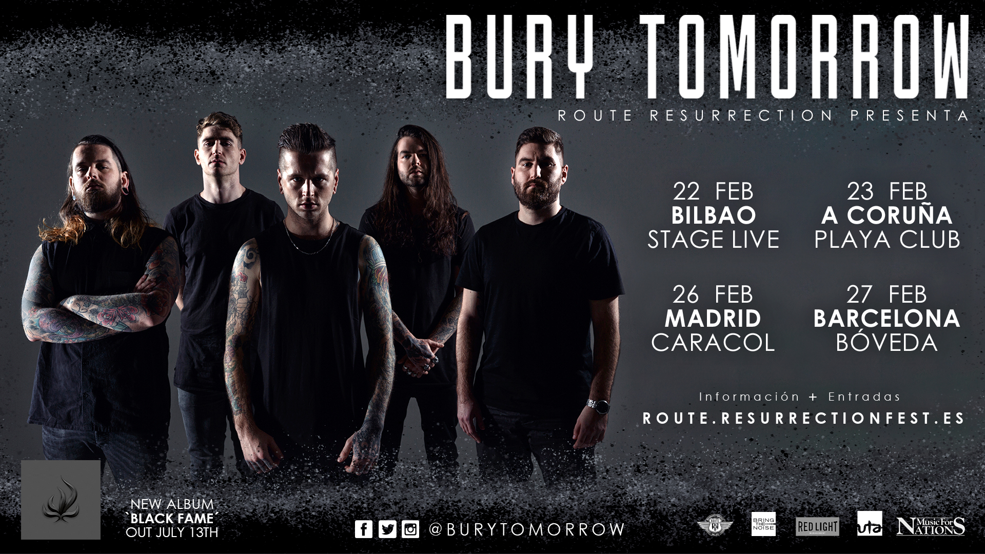 Route Resurrection Fest 2019 - Bury Tomorrow - Event