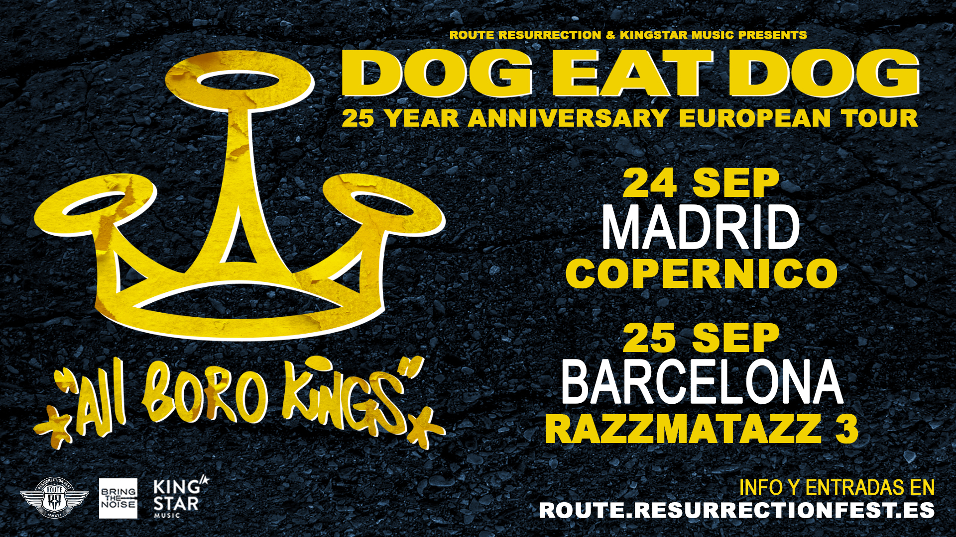 Route Resurrection Fest 2019 - Dog Eat Dog - Event