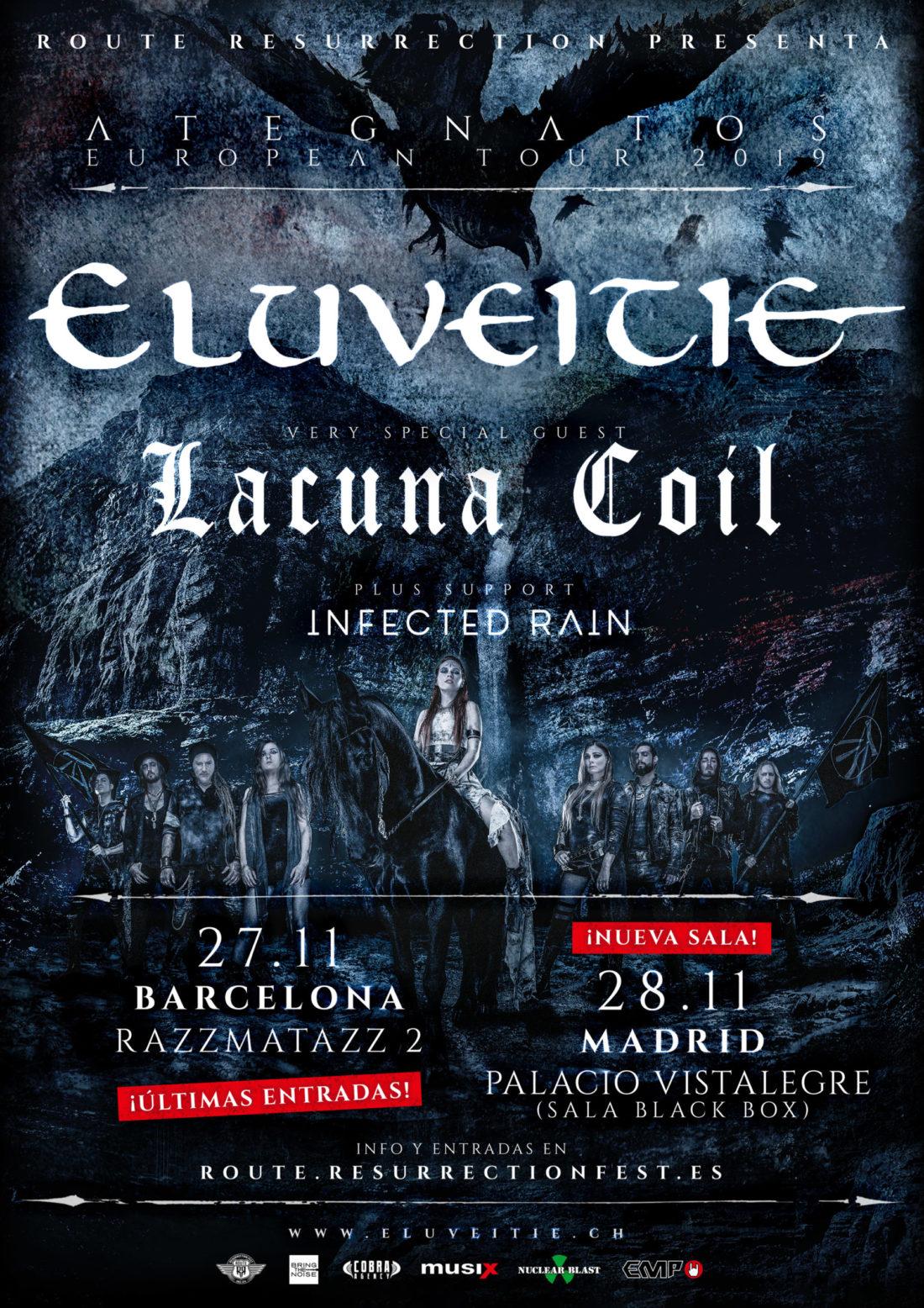 Eluveitie agota entradas en Madrid y cambia de sala; últimas entradas para Barcelona