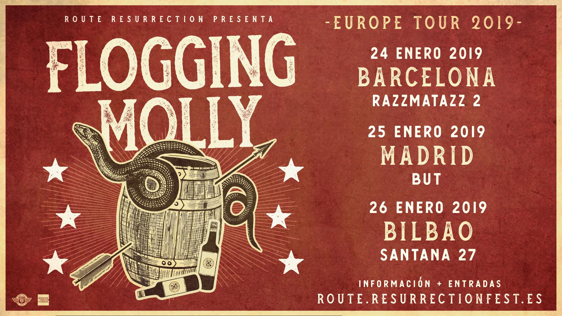 Route Resurrection Fest 2019 - Flogging Molly - Event