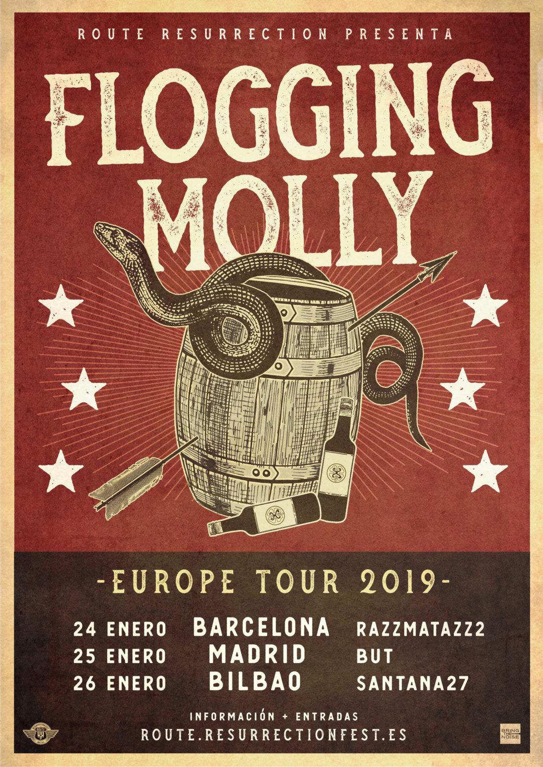 Nueva gira Route Resurrection: Flogging Molly