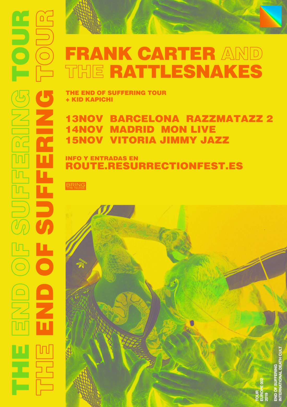 Nueva gira Route Resurrection: Frank Carter & The Rattlesnakes