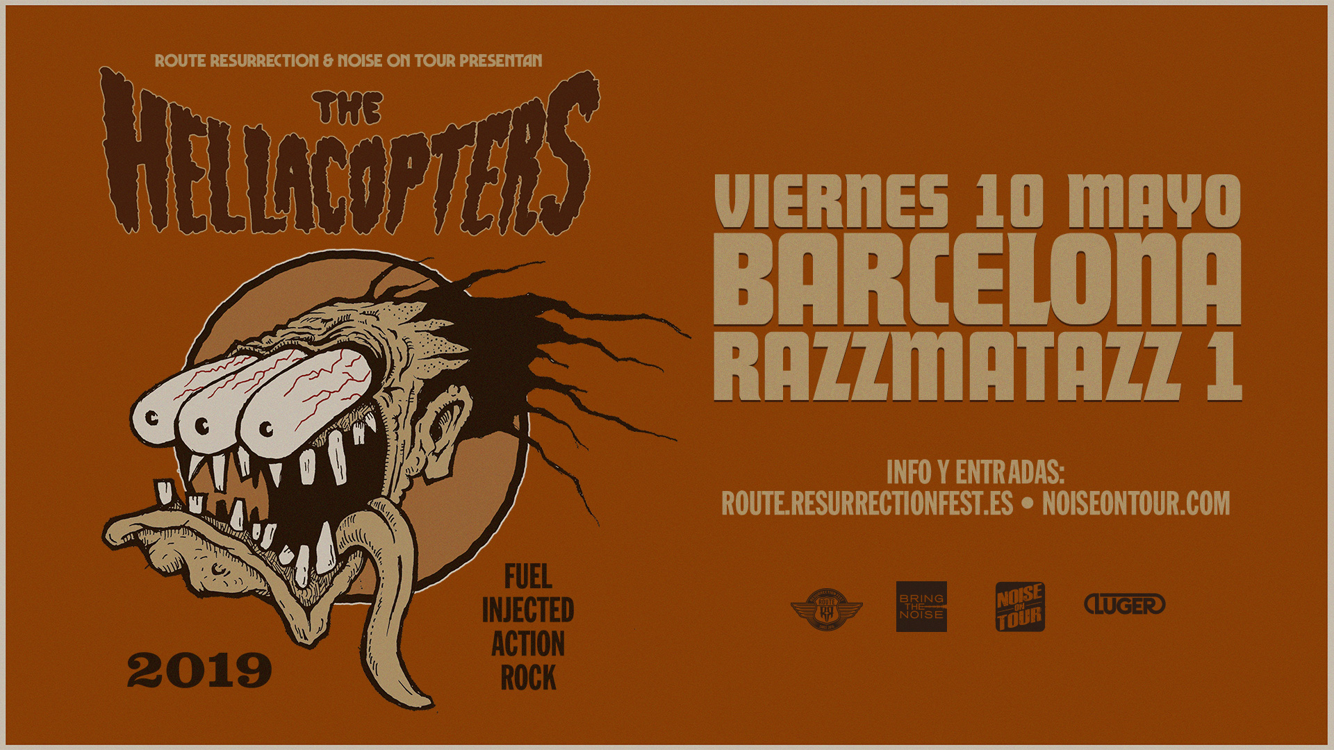 Route Resurrection Fest 2019 - The Hellacopters - Event