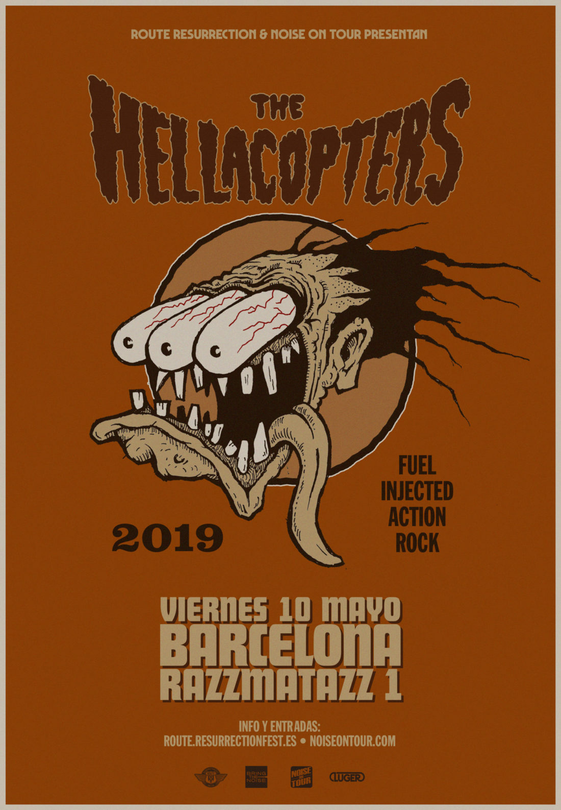 Nueva gira Route Resurrection: The Hellacopters