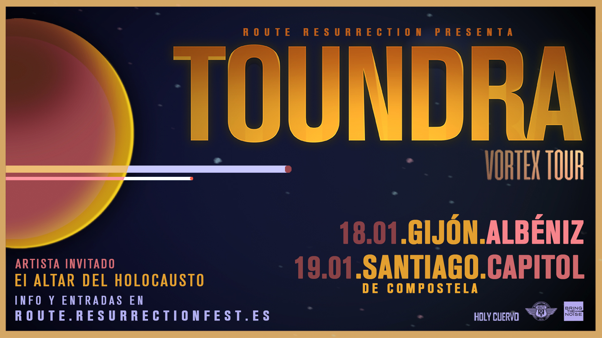 Route Resurrection Fest 2019 - Toundra - Event