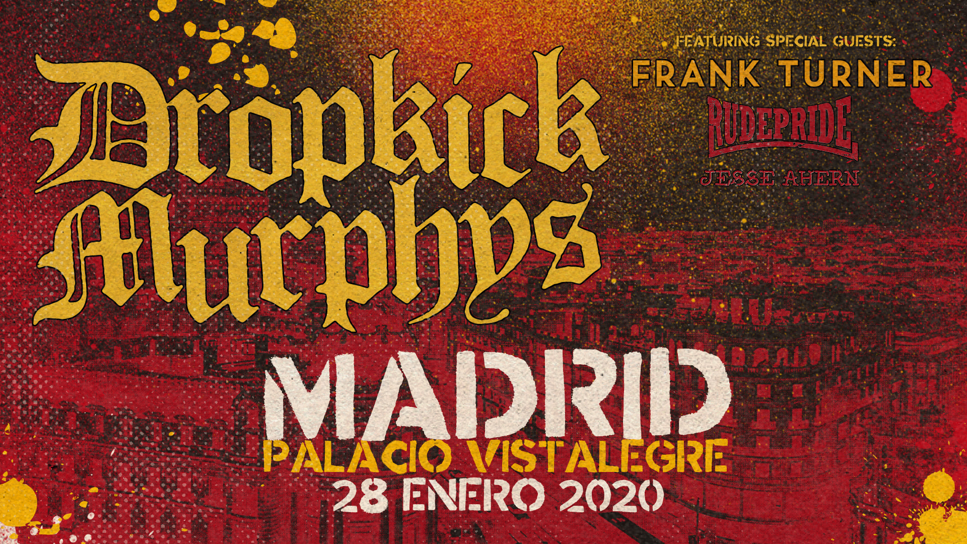 Route Resurrection Fest 2020 - Dropkick Murphys - Event