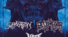 Nueva gira Route Resurrection: Suffocation y Belphegor de gira como cabezas de cartel