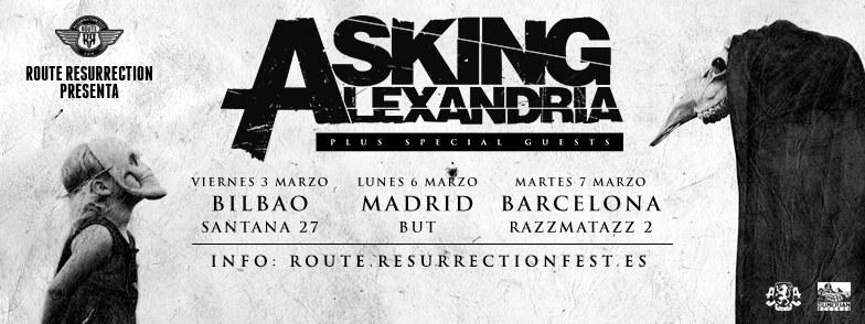 Route Resurrection Fest 2016 - Asking Alexandria - Event