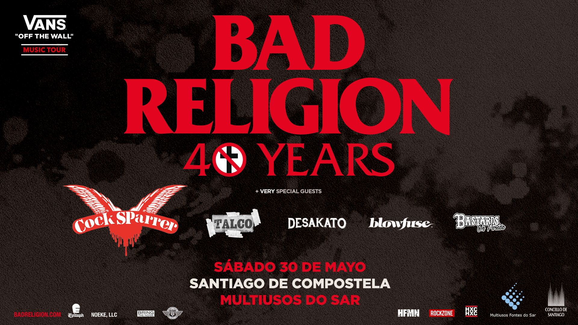 Route Resurrection Fest 2020 - Bad Religion - Event