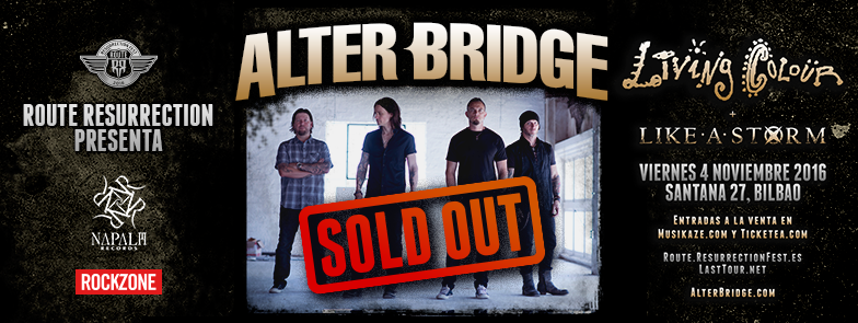 Route Resurrection Fest 2016 - Alter Bridge- Event