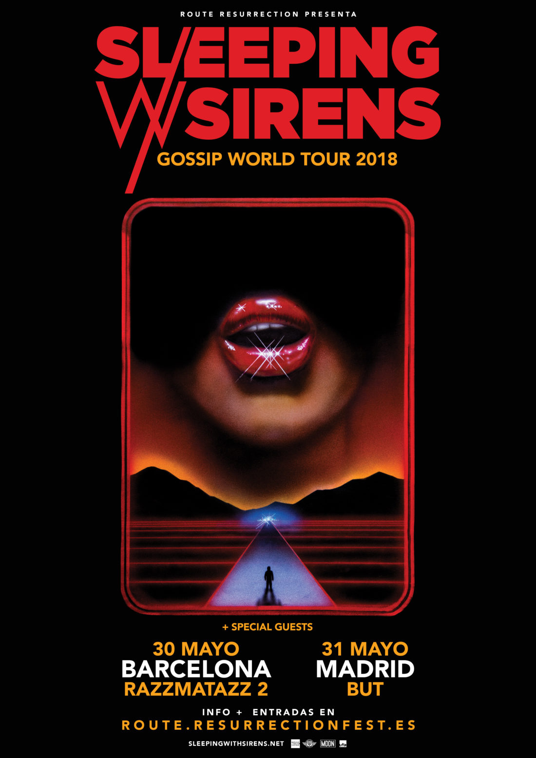Nueva gira Route Resurrection: Sleeping With Sirens