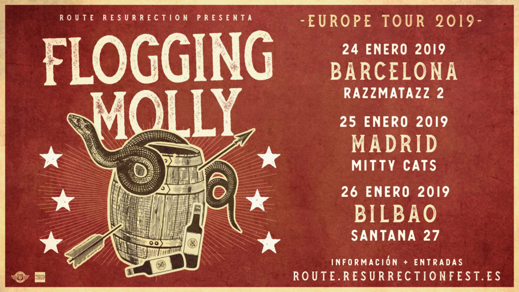 Route Resurrection Fest 2019 - Flogging Molly - Event