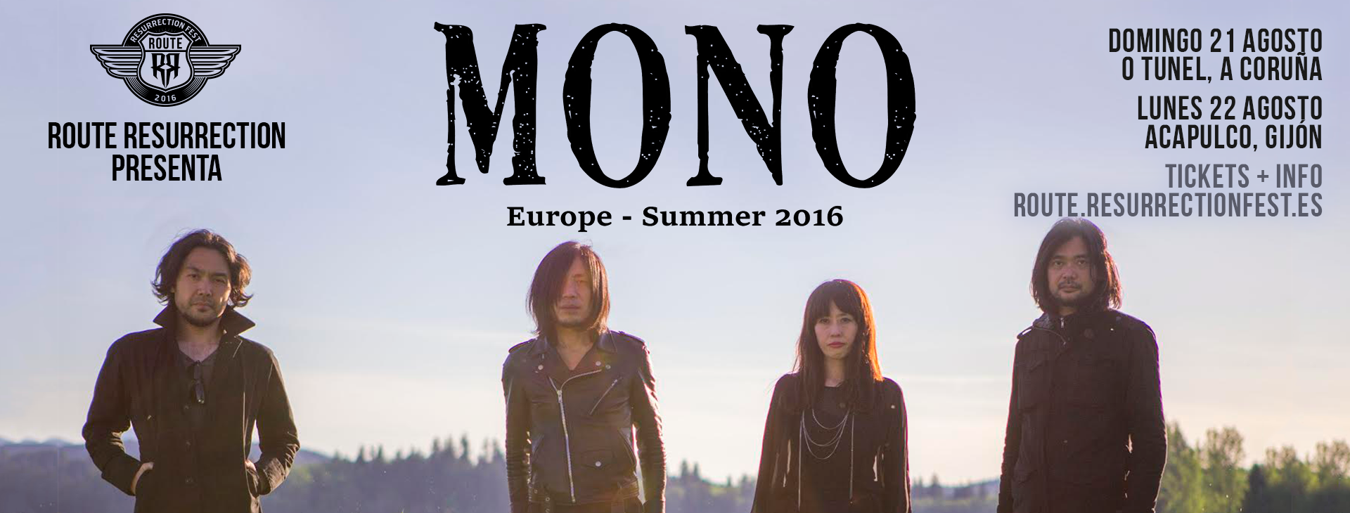 Route Resurrection Fest 2016 - MONO - Event