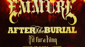 """Nueva gira Route Resurrection: """"Torch The Earth"""" Tour, con Emmure y After The Burial"""