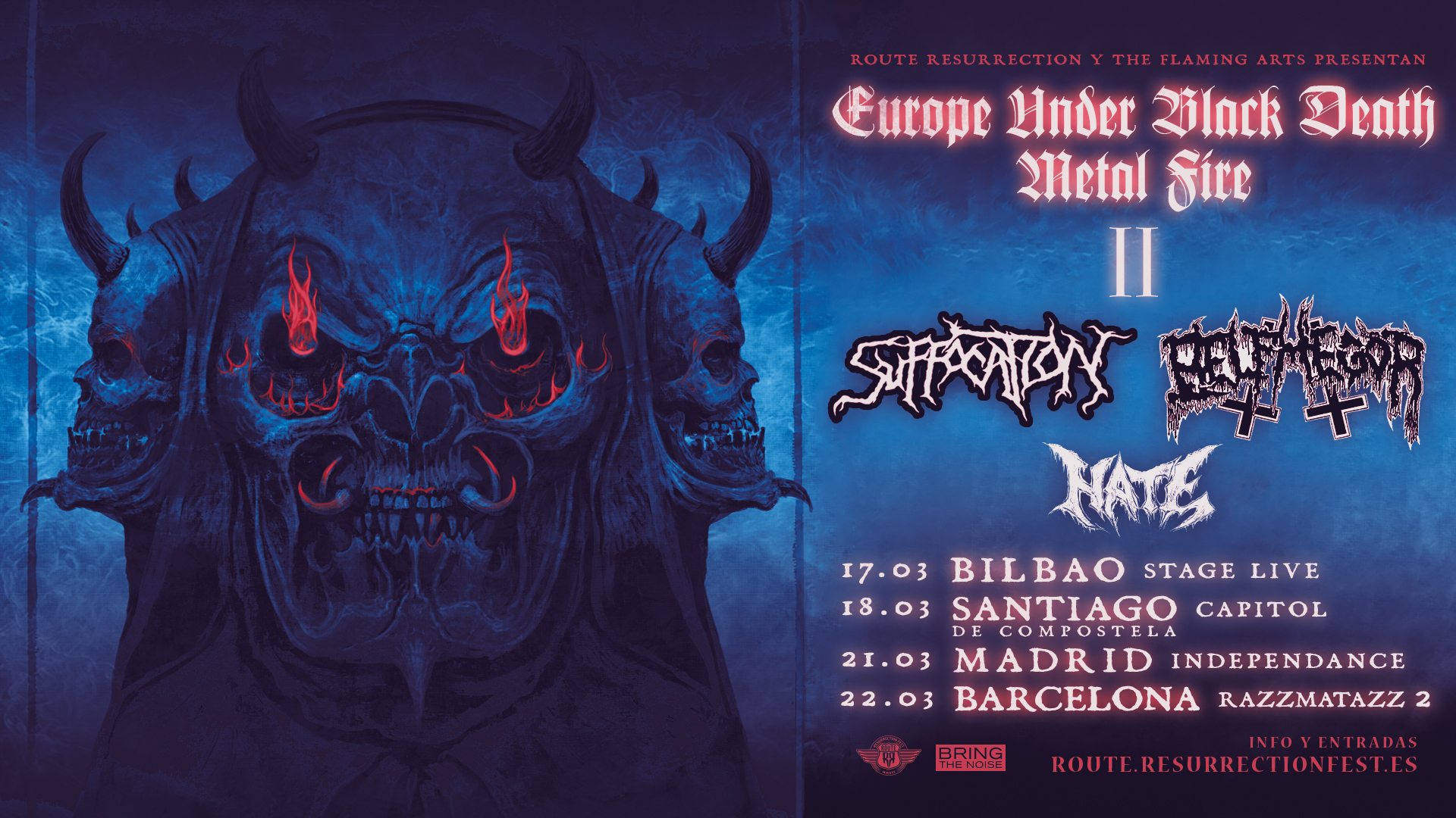 Route Resurrection Fest 2020 - Suffocation - Belphegor - Event