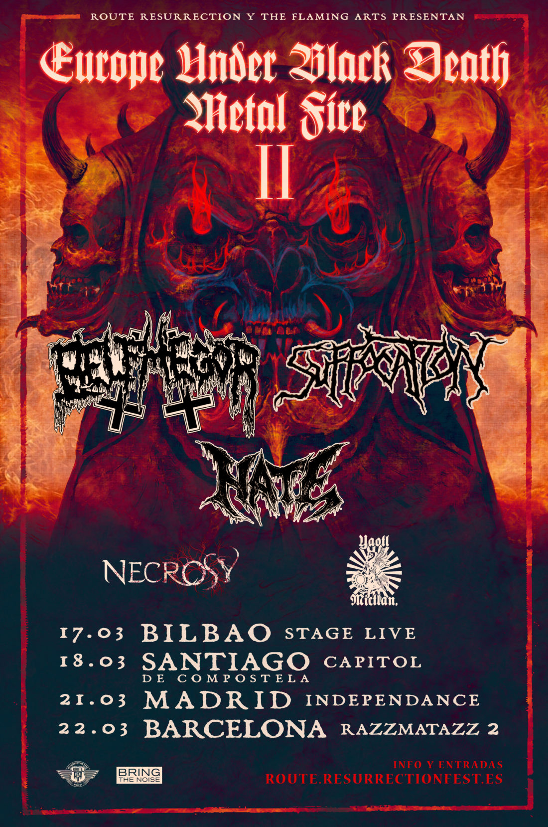 Suffocation + Belphegor (Europe Under the Black Death Metal Fire Tour II)