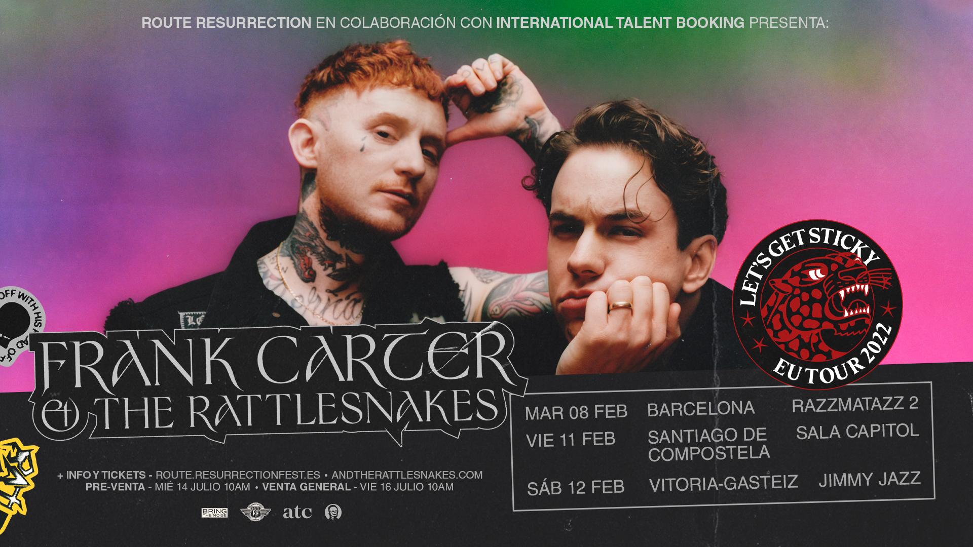 Route Resurrection Fest 2022 - Frank Carter And The Rattlesnakes