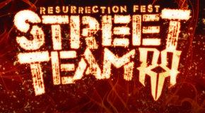 ¡Abrimos inscripciones para el Resurrection Fest Street Team 2020!