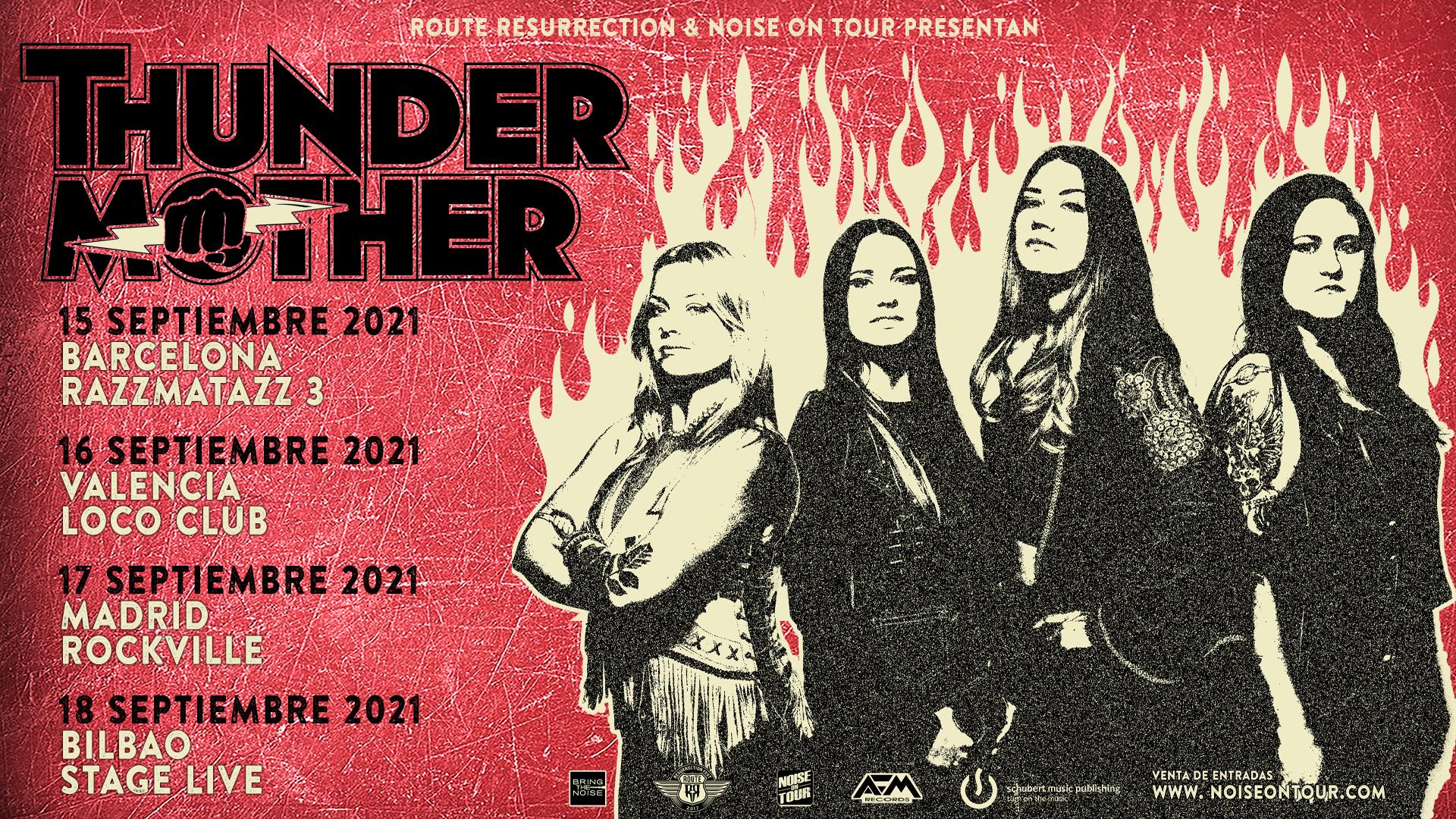 Route Resurrection Fest 2021 - Thundermother - Event