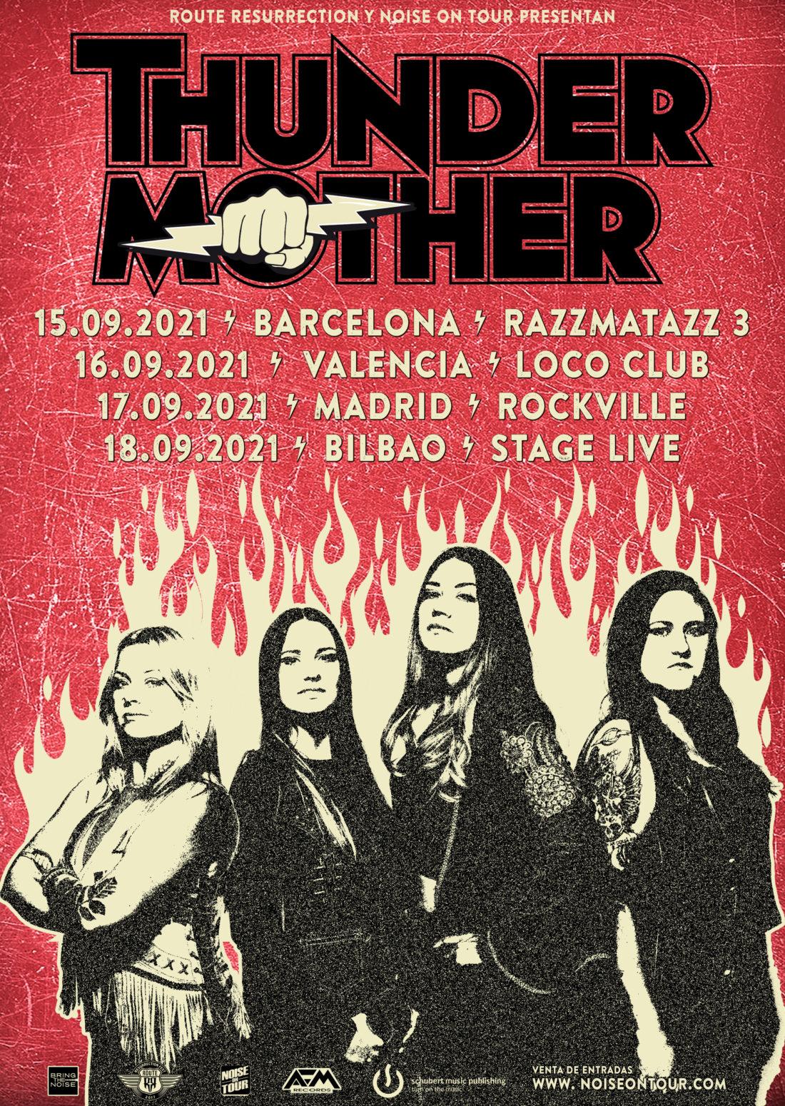 Thundermother de gira por España