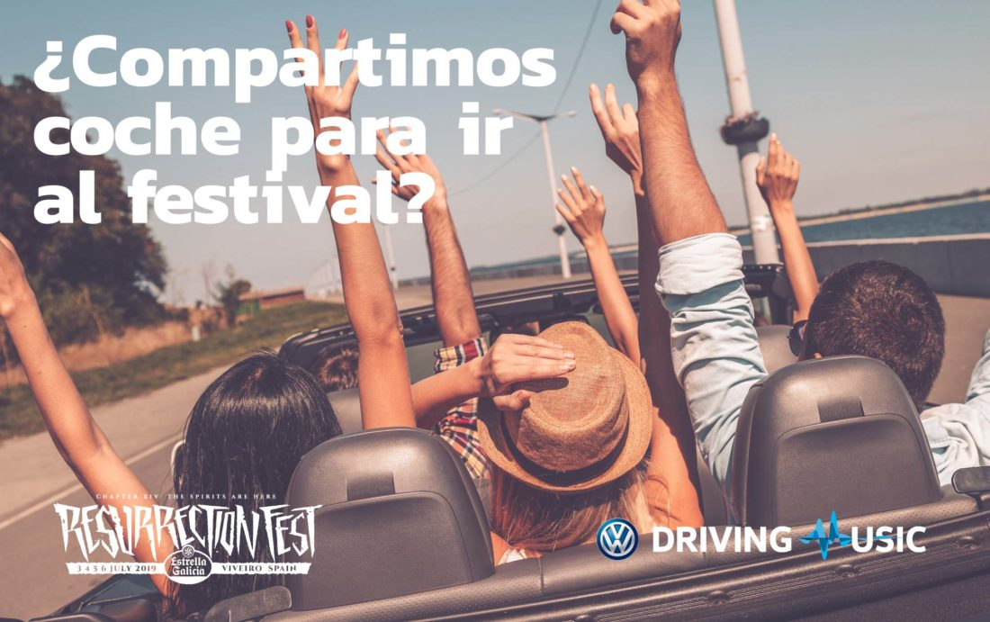 Vente al Resurrection Fest con Volkswagen Driving Music