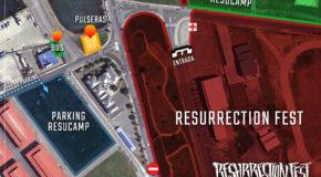 Información sobre pulseras y taquillas durante el Resurrection Fest Estrella Galicia 2017