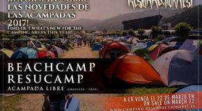 Acampadas del Resurrection Fest 2017 anunciadas y a la venta Beachcamp y Resucamp