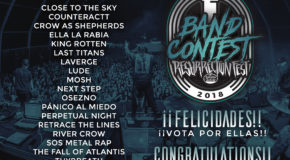 Finalistas del Resurrection Fest Band Contest 2018