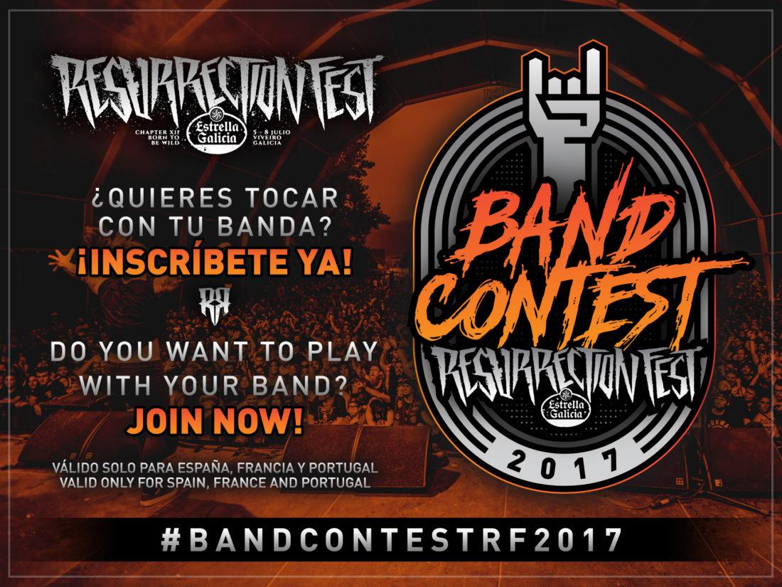 Ya está aquí el Resurrection Fest Estrella Galicia Band Contest 2017