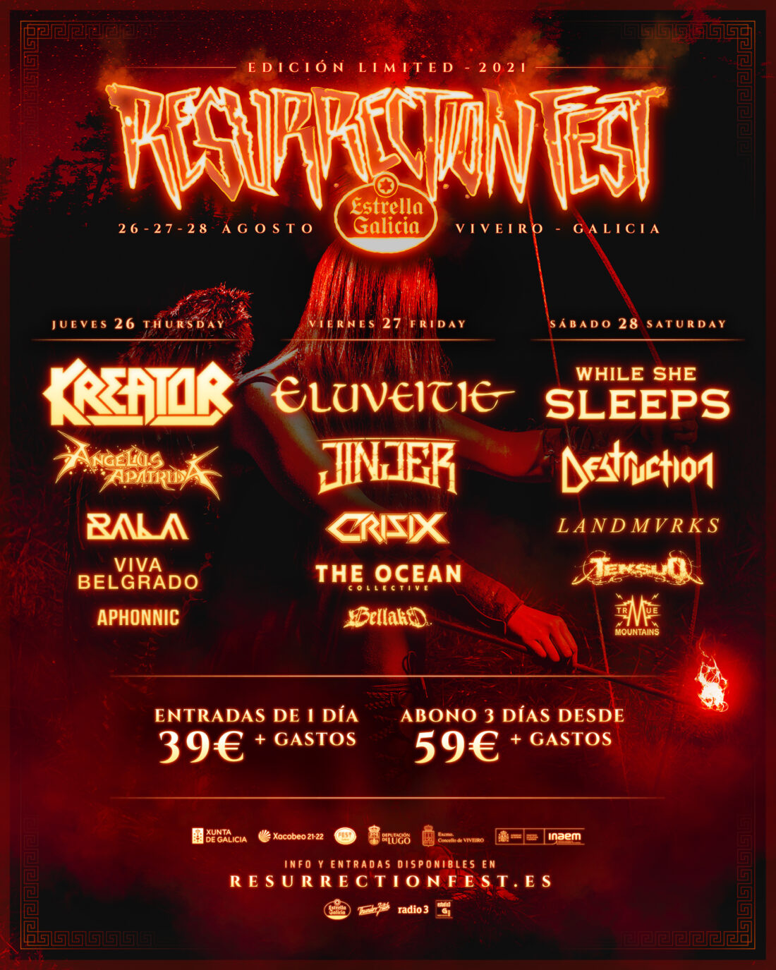 Resurrection Fest Estrella Galicia Limited 2021