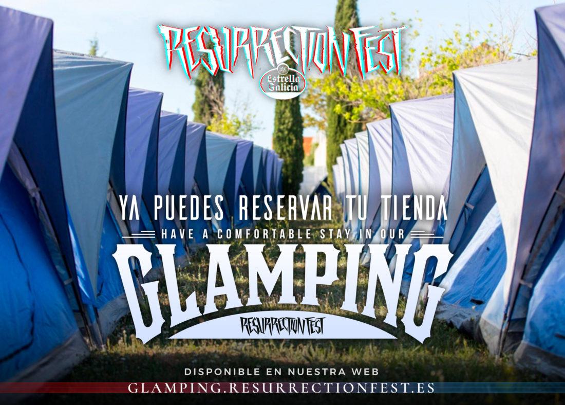 Glamping on sale for Resurrection Fest Estrella Galicia 2018