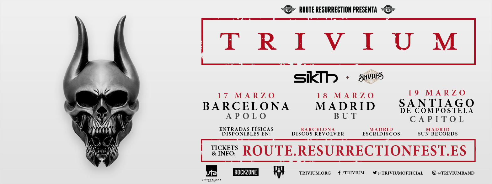 Route Resurrection Fest 2016 - Trivium - Event
